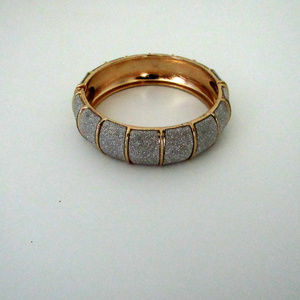 Jewelry - Gold and Silver Segmented Clasp Bracelet